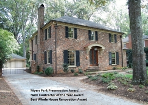 Myers Park Preservation Award