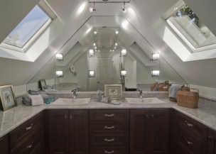 National Master Builder Award-Winning Attic to Bath Conversion